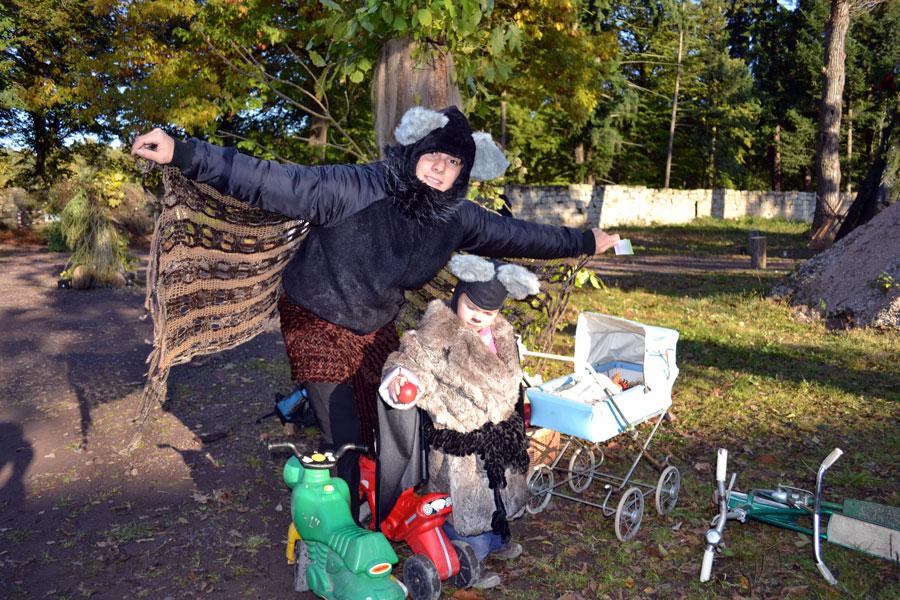 Strašidlení vareálu Hajemství 22.10.2011